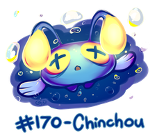 Pokemon #170 - Chinchou