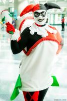 Harley Quinn in the Laughing Fish 7 by Lady-Ha-ha