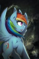 A Dash of Lightning by TheBatFang