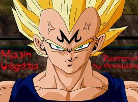 Vegeta Remastered by firebladenatjox