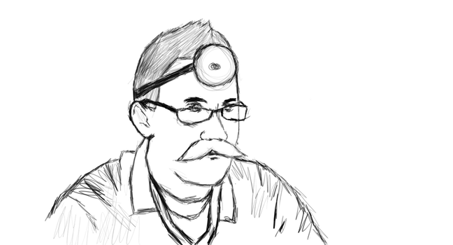 Dr. Markilplier (sketch) by privatepolicy99