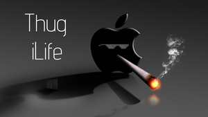 Apple vs Microsoft : HD Thug Life by karara160