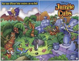 Disney-Jungle Cubs Picture its amazing!!!!!!! OoO by SuperSayian5Naruto