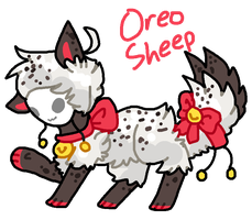 Oreo Sheep Tranceling AUCTION by celexte