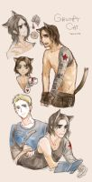 grumpy cat bucky by Yamygugu