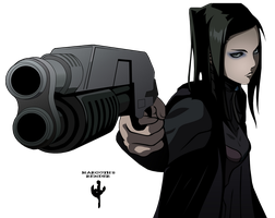 Ergo Proxy Render by Margoth64