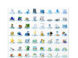 Windows 7 icons-Rocket Dock by EddieDeviant