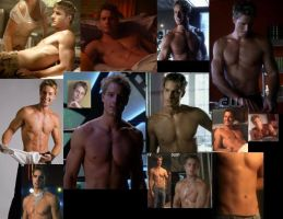 Oliver Queen SHIRTLESS collage by slayerxy