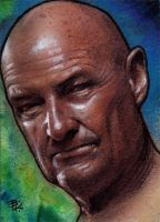 John Locke Sketch Card by Ethrendil