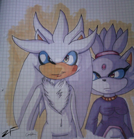 .: Silver and Blaze COPICS by ZeFrenchinator