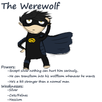 The Werewolf by AskGomlesh