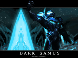 Dark Samus Wallpaper by ThePoopSlayer