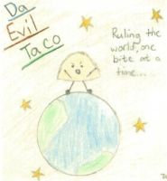Teh Evil Taco by Nin-Kitty