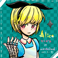 Alice Kurapika~ by Foxmi
