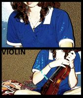 Violin. by hannarb