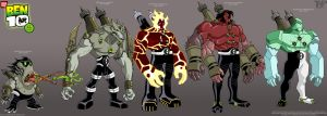 BEN 10: DNA Lab Hybrids 2..... by tnperkins