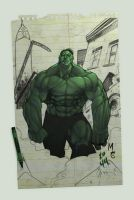 Hulk SMASH backgrounds by spidermanfan2099