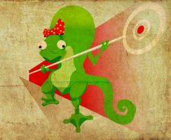 Lizzie The Lizard with Texture by Project-Cow