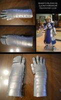Saber's Gloves by LucretiaWorks