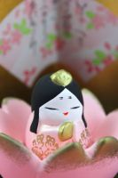 Hina Matsuri Girl Porcelain Doll by Rea-the-squirrel