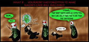 "Snakeball Fun ""HP7 spoiler"" by kyetxian"