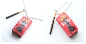Pocky Necklace by ChroniclesOfKate