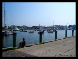 Sitting on the Dock of the Bay by Geayzus
