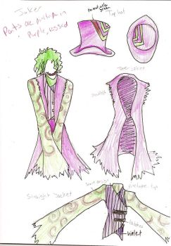 Joker Lolita Design by GrimCareBear