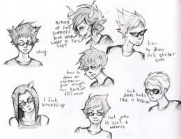 HOMESTUCK DOODLES WHAT by Anime-Angelz