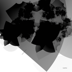 Fractal representation of fear, 2 by SocratePazzo