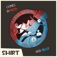 TF2: Lord Pyron Seal of Approval shirt design by Durandana