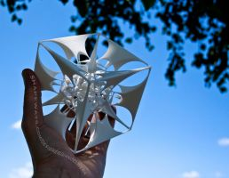 The Divine Sailor - 3D printed fractal artwork by MANDELWERK