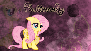 Fluttershy Wallpaper by brightrai