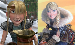 Astrid Hofferson in How to Train Your Dragon 'n 2 by MelySky