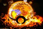 Pokeball of Mega Charizard Y by Jonathanjo