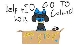 HELp  rIO go to cOlLeG! by AwesomePaw