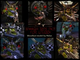 WAAAGH Skinpack for UT2004 by MisterTrioxin