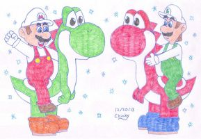Christmas Colors by N64chick