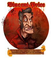 Vincent Price by Garvals