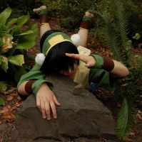 Toph: Bored? Earthbend. by Senephrin