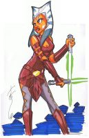 11x17 Ahsoka V2 Feb 9 by Hodges-Art