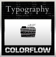 Colorflow Typography Folders by TMacAG