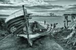 Rotted boat by steveearl