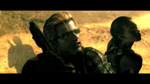 Wesker and Sheva Screenshot by RedDevil00