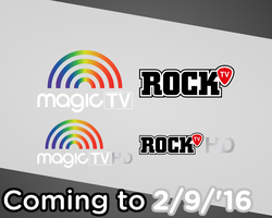 Magic TV and Rock TV is coming to 9/2/2016 by Catali2016