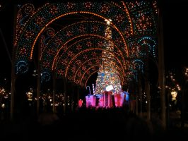 Epcot Christmas 14 by AreteStock