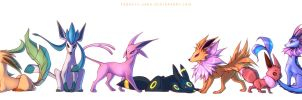 The Complete Eeveelution by francis-john