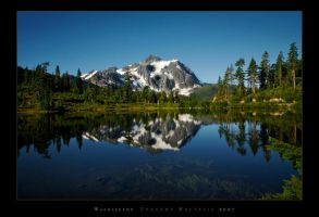 Washington Unknown Mountain by mysteriumtremendum