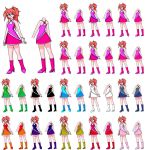 Colorful Dress Annas for PSU by majorkerina