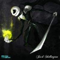 Jack Skellington - Sephiroth by PedroCampello